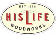 His Life Woodworks Logo