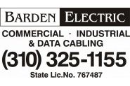 Barden Electric Logo