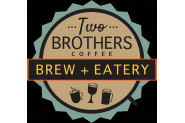 CHOCOLATE VENDOR: Two Brother's Coffee Logo