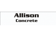 Allison Concrete Logo