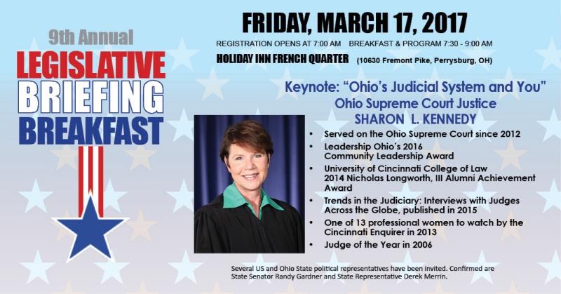 9th Annual Legislative Briefing Breakfast
