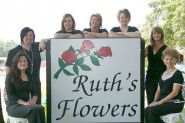 Ruth's Flowers Logo