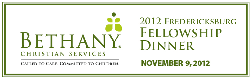 2012 Fredericksburg Fellowship Dinner