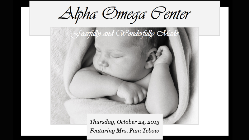 Alpha Omega Center's Fundraising Banquet