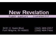 New Revelation Hair Care Center Logo