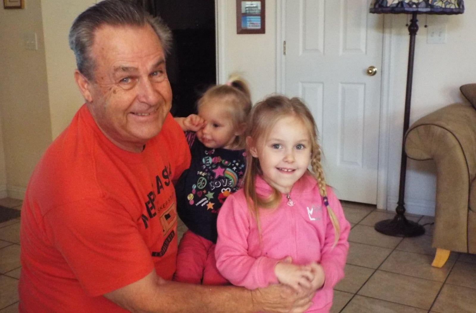 Grandpa with Avery