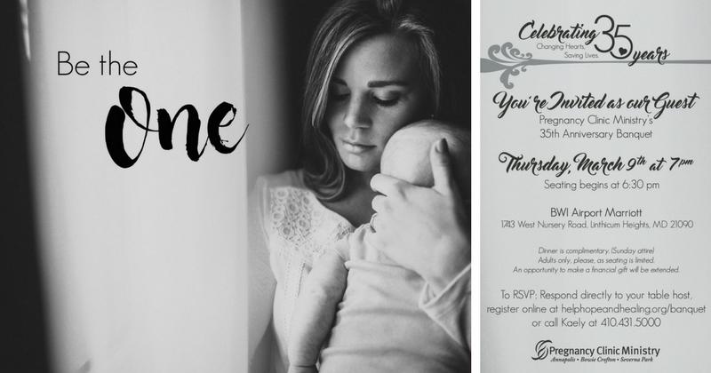 Severna Park Pregnancy Clinic Anniversary