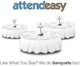 AttendEasy - We do Banquets Too!