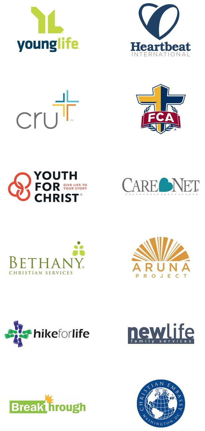 Logos - A Sampling of Ministry Sync Customers